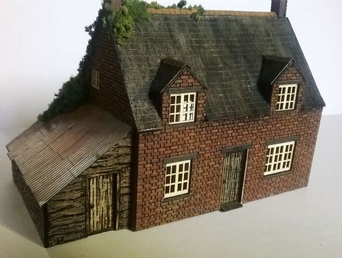 Arch Laser ALN070 N Gauge Woodmans Cottage Kit